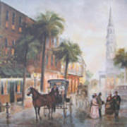 Charleston Somewhere In Time Poster