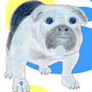 Charlie The Bulldog Poster