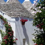 Charming Trulli Poster