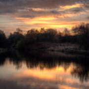 Chasewater Sunrise Poster