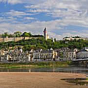 Chateau De Chinon Panorama Poster