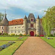 Chateau De Saint-germain-de-livet, Normandy, France Poster