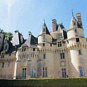 Chateau D'usse, Loire, France Poster