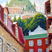 Chateau Frontenac 02 Poster