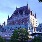 Chateau Frontenac, Montreal Poster