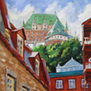 Chateau Frontenac Poster