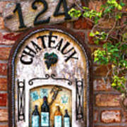 Chateaux Finerty Poster