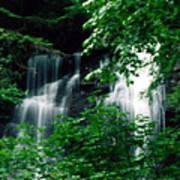 Chattahoochee Waterfall Poster