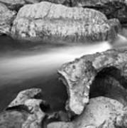 Chattooga River Bw1 Poster