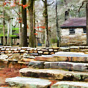 Cheaha State Park In The Fall Poster