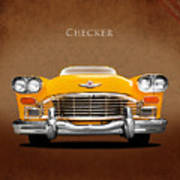 Checker Cab Poster
