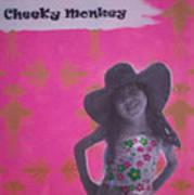Cheeky Monkey Poster