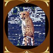 Cheetah Lean And Mean Poster