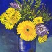 Cheris Flowers Poster