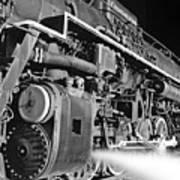 Chesapeake And Ohio Steam Engine Poster