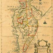 Chesapeake Bay 1786 Poster