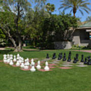 Chess At The Biltmore Poster