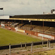 Chester - Sealand Road - Main Stand 1 - 1969 Poster