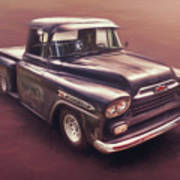 Chevrolet Apache Pickup Poster