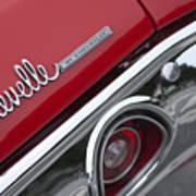 Chevrolet Chevelle Ss Taillight Emblem 2 Poster