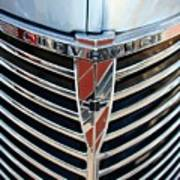 Chevrolet Chrome Poster
