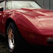 Chevrolet Corvette 1977 Poster