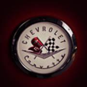 Chevrolet Corvette, Corvette Logo Poster