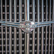 Chevrolet Grill Poster