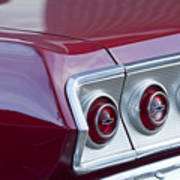 Chevrolet Impala Ss Taillight 2 Poster
