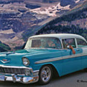 Chevy At Lake Louise Poster