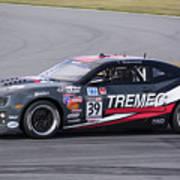 Chevy Camaro At Daytona Raceway Poster
