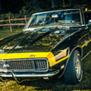 Chevy Camaro Poster