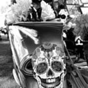 Chevy Decor Day Of Dead Bw Poster