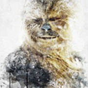 Chewbacca - Star Wars Poster