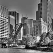 Chicago Bridges Poster