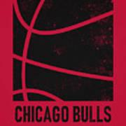 Chicago Bulls City Poster Art 2 Poster