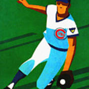 Chicago Cubs 1972 Official Program Poster