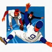 Chicago Cubs 1974 Program Poster
