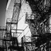 Chicago Fire Escapes 2 Poster