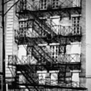 Chicago Fire Escapes 3 Poster