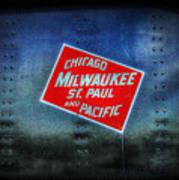 Chicago Milwaukee St. Paul And Pacific Poster