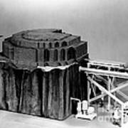 Chicago Pile-1, Scale Model Poster