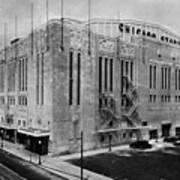Chicago Stadium, Chicago, Illinois Poster by Everett