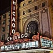 Chicago Theatre Poster