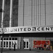 Chicago United Center Signage Sc Poster