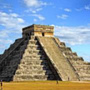 Chichen Itza Pyramid Poster