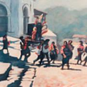 Chichicastenango Procession Poster