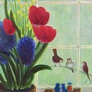 Chick Flick Poster by Dana Redfern