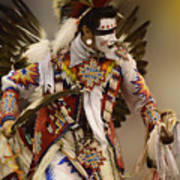 Pow Wow Chicken Dancer 12 Poster