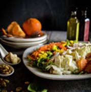 Chicken Salad With An Orange Twist Poster